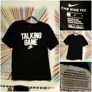 Nike Unisex (Mens Medium) Black & White Teeshirt